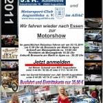 Fahrt zur Motor-Show nach Essen am 03.12.
