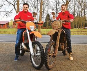 NWZ Artikel über die Erfolge von Stefan Bredehorn und Jonas Kreke
